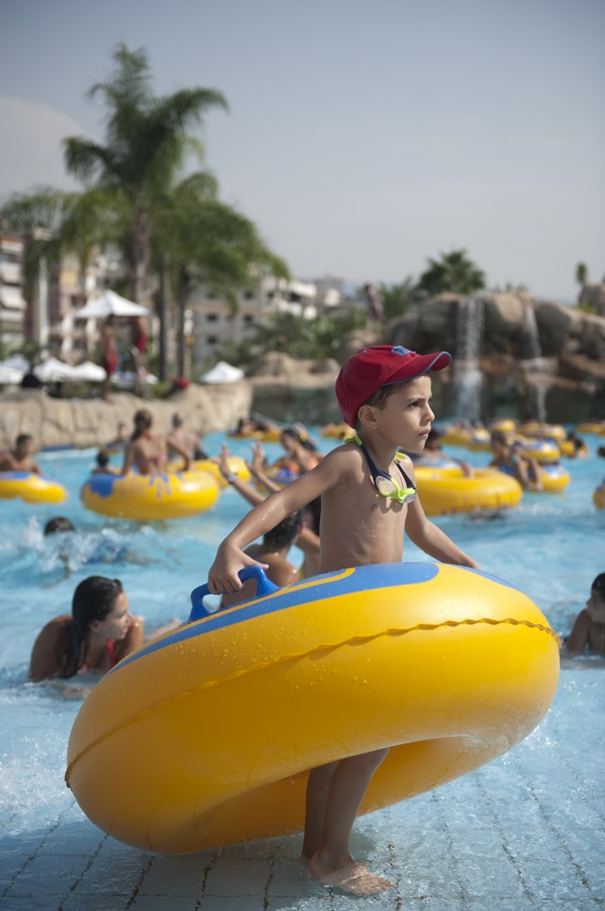 Wave Pool Watergate Aqua Park Lebanon