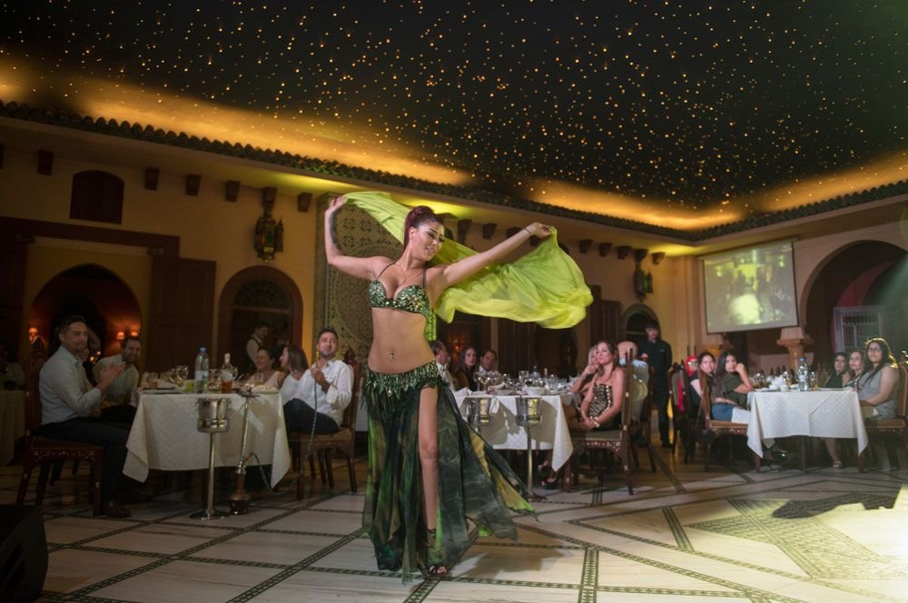 Lebanese Mezze and Belly Dancer at Diwan Shahrayar